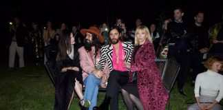 LANA DEL REY, ALESSANDRO MICHELE, JARED LETO AND COURTNEY LOVE