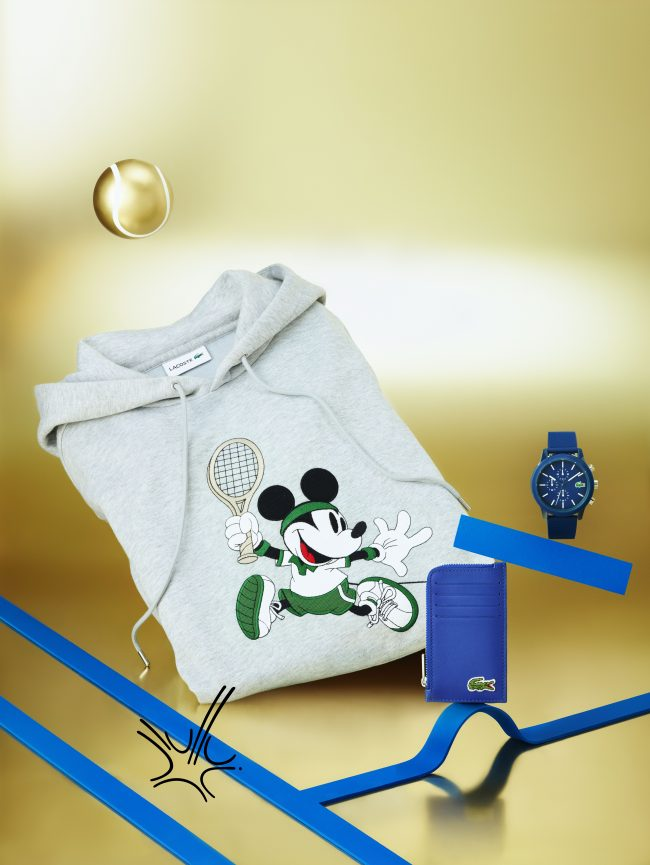 Lacoste X Disney, Meeting of two icons FASHIONPRESS.IT