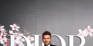 David Beckham attends the photocall at the Dior Pre Fall 2019 Men's Collection on November 30, 2018 in Tokyo, Japan.