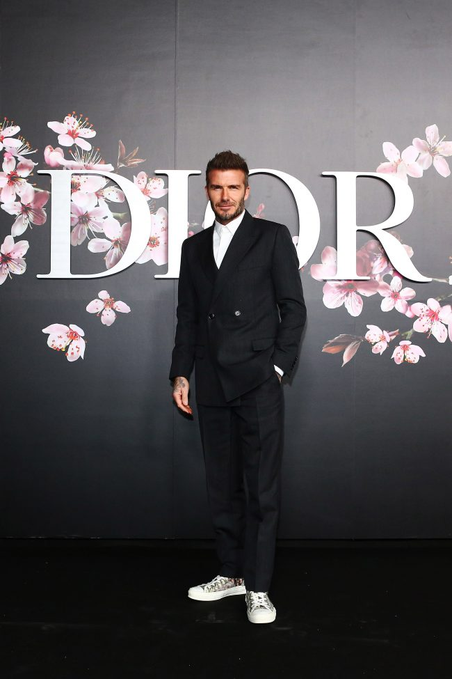 David Beckham attends the photocall at the Dior Pre Fall 2019 Men s  Collection on November 30, 2018 in Tokyo, Japan. 7d6102ba0df