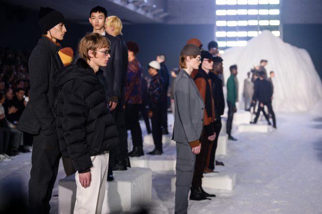 Ermenegildo Zegnasceglie la Bocconi per l'avvio di Milano Moda Uomo2018 fashionpress.it