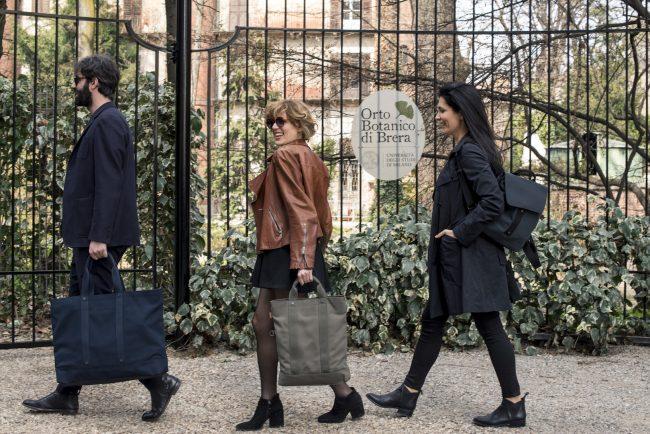 Nasce S bag il nuovo marchio by Smemoranda in difesa dell'ambiente - disegnato da Nava Design