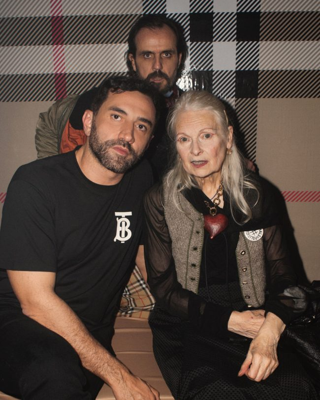Riccardo Tisci, Vivienne Westwood and Andreas Kronthaler host collaboration launch party in London
