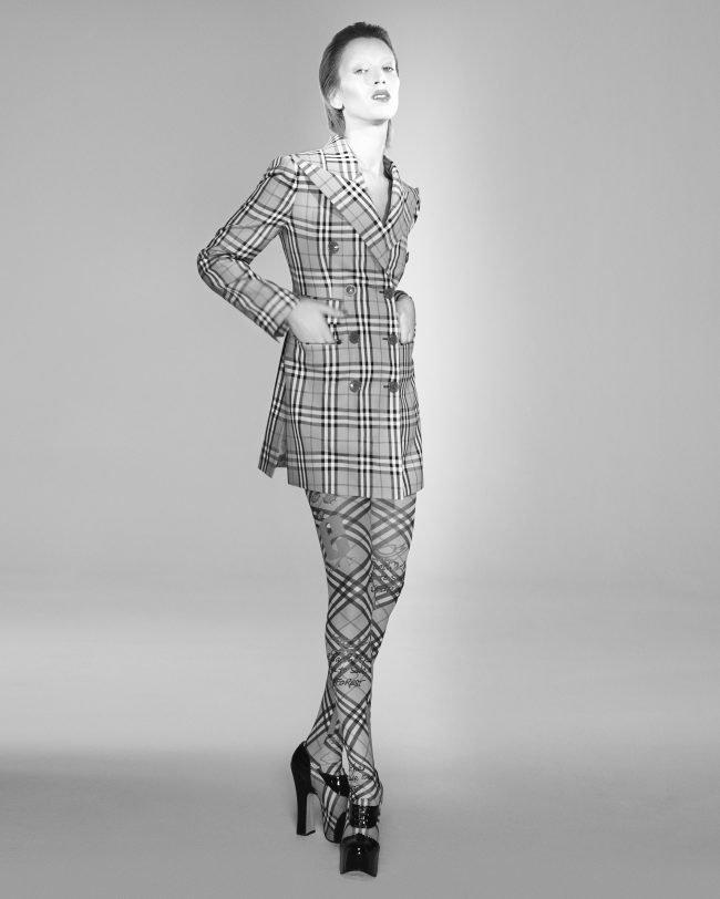 Vivienne Westwood & Burberry campaign shot by David Sims