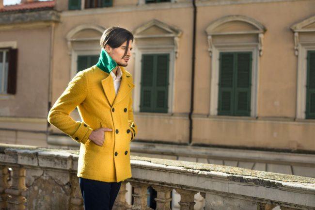 Al Pitti Uomo 95 Peacoat by Moneta Clothing fashionpress.it