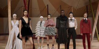Il favoloso circo di Dior, equilibrio e magia in passerella ...