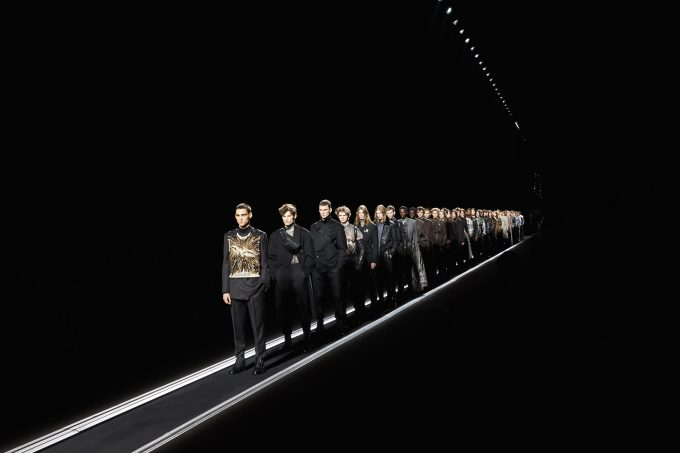 Dior teams up with American artistRaymond Pettibonfor AW19