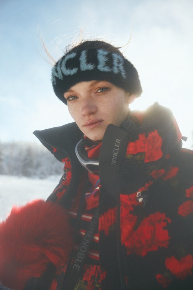Firat Meric for ELLE Turkey January 2019 with Eva Klimkova for Fashionpress.it