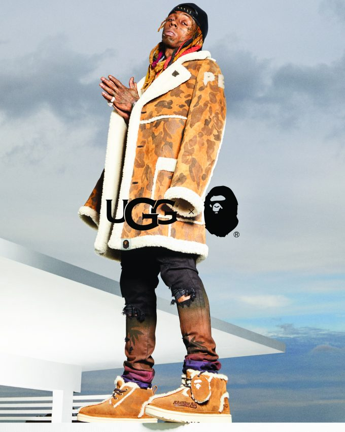 Lil Wayne Stars in the UGG x BAPE Campaign