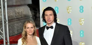 Guests wearing Burberry at the BAFTA's