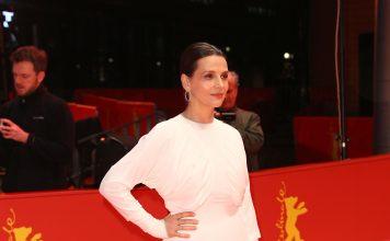 Juliette Binoche indossa Burberry al Berlinale Film Festival