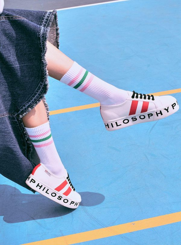 Superga x Philosophy nuove icone in campo