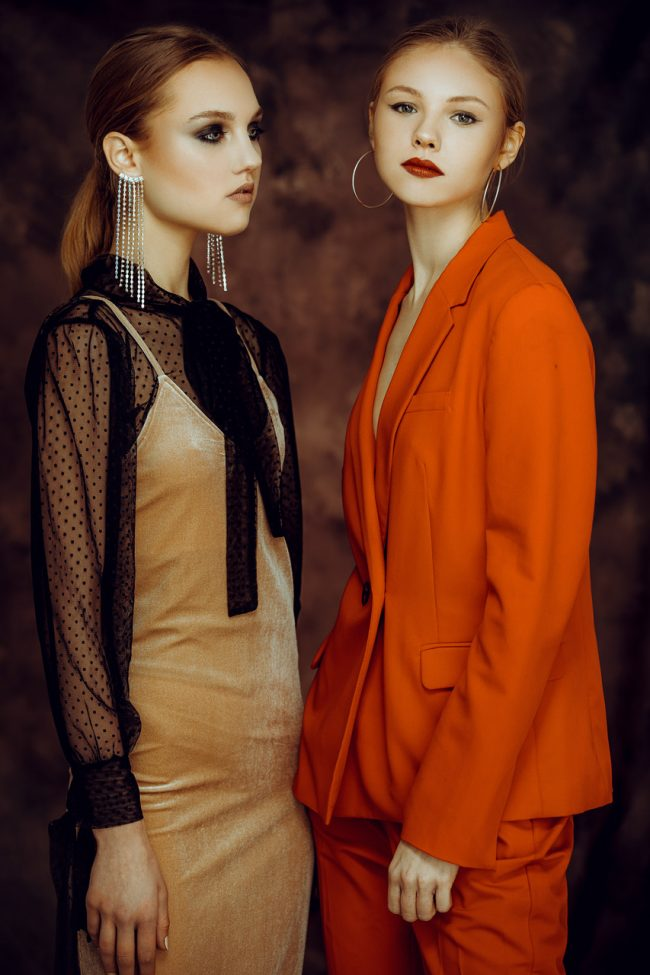 Vittorio La Fata for Fashionpress.it with Sofiya Zlobina & Evgenia Taran