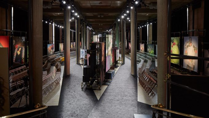 """Found Objects / Objets Trouvés "": Spazio Sfilta Miu Miu A/I 2019"