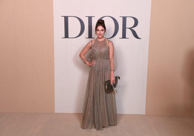 Meryem Uzerli in Dior Couture