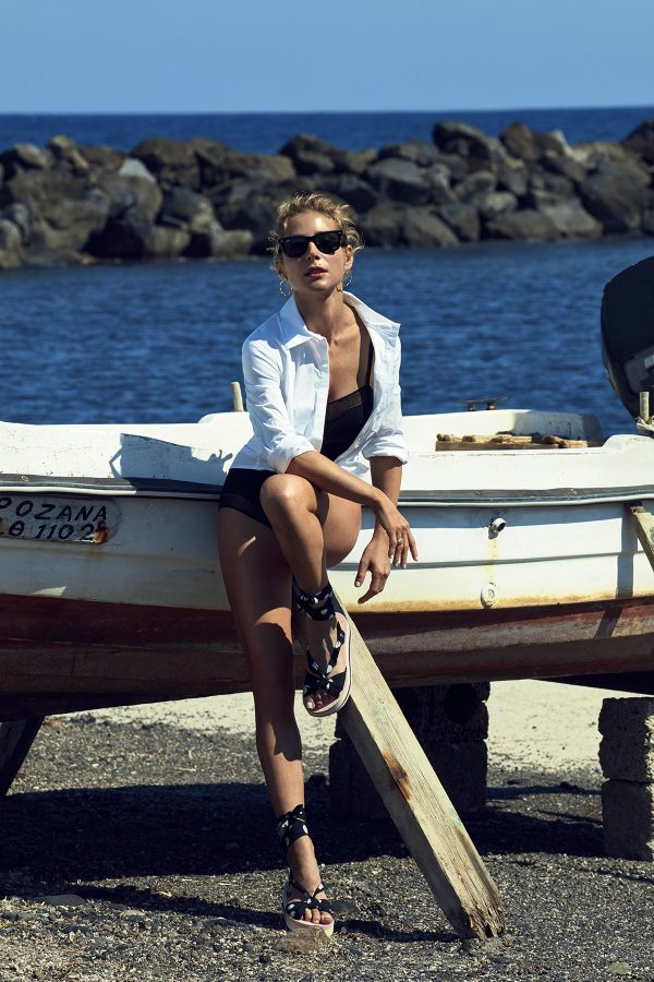 Elsa Pataky for Gioseppo SS19 fashionpress.it