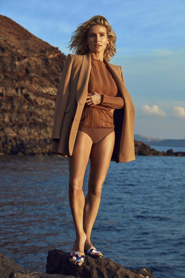Elsa Pataky for Gioseppo SS19 fashionpress.it