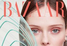 Coco Rocha Poses for Harper's Bazaar Ukraine By Pelle Lannefors