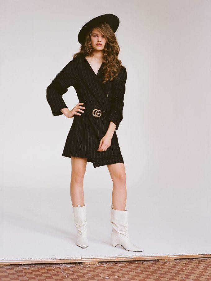 Gabrysia Gmurkowska for Harper's Bazaar Ukraine by Mateusz Stefanowski fashionpress.it