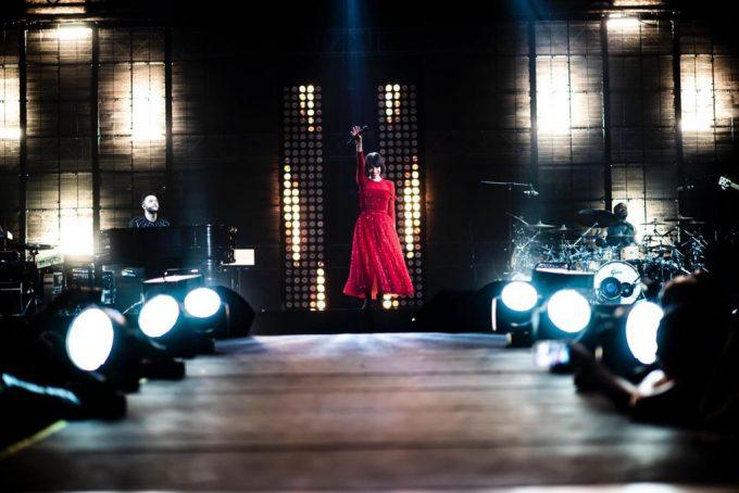 """Giorgia indossa Dior di Maria Grazia Chiuri per i suo """"Pop Heart"""" Tour"""