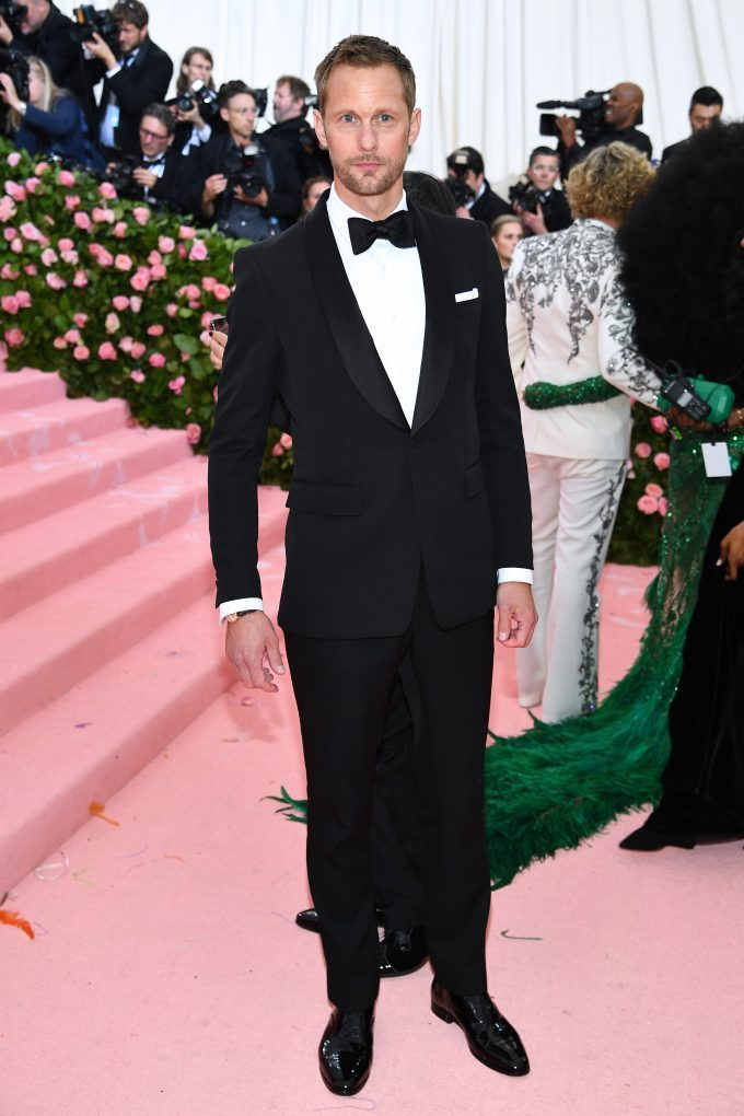 Guests wearing Burberry at the Metropolitan Museum of Art's Costume Institute Gala 2019