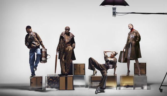 Burberry svela la Collezione Monogram con una campagna interpretata da Gigi Hadid