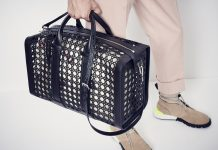 Dior — The Perforated Cannage Men's Bag Line