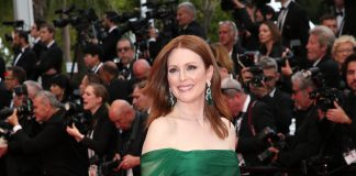 Julianne Moore is dressed by Dior