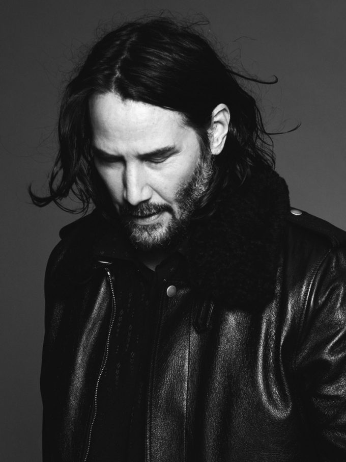 Keanu Reeves Stars in Saint Laurent's Fall 2019 Campaign
