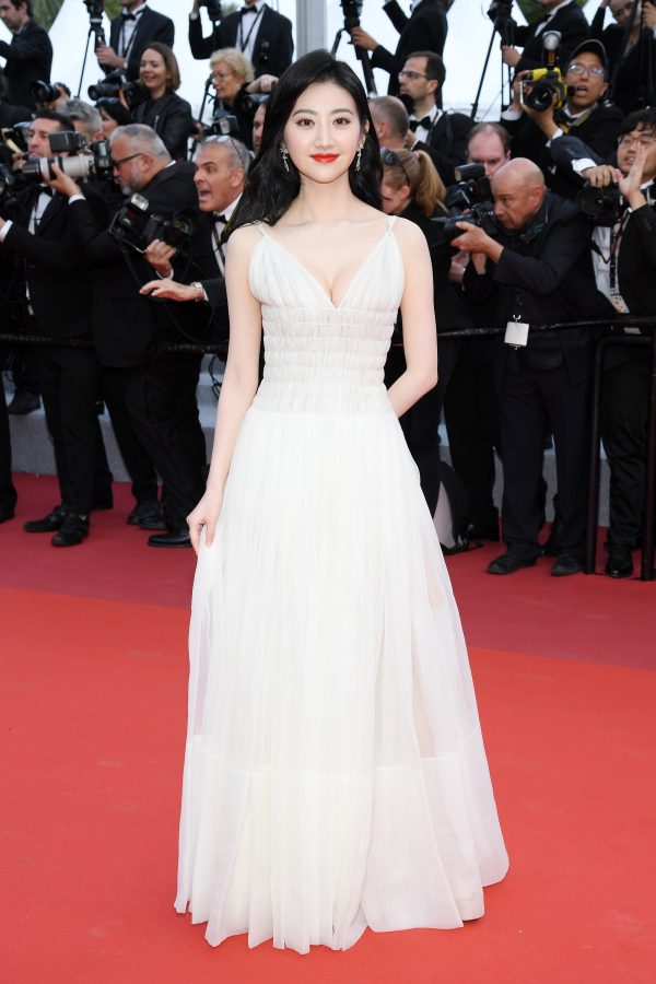 Cannes Film Festival:Jing Tian In Christian Dior Couture
