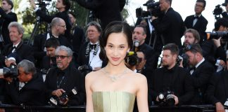 Actress Kiko Mizuhara, Dior Make Up Ambassador, is dressed and made up by Dior
