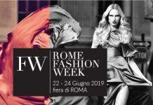 Alta Moda a porte chiuse - ROME FASHION WEEK 2019 - 22, 23 e 24 Giugno - Fiera di Roma