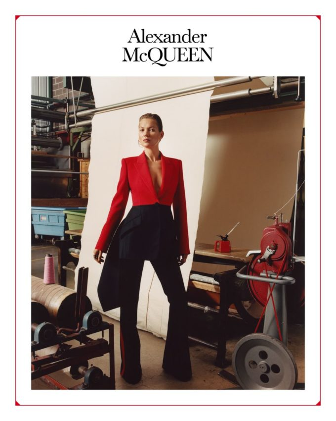 Alexander McQueen Fall 2019 Adv by Jamie Hawkesworth and MM (Paris)