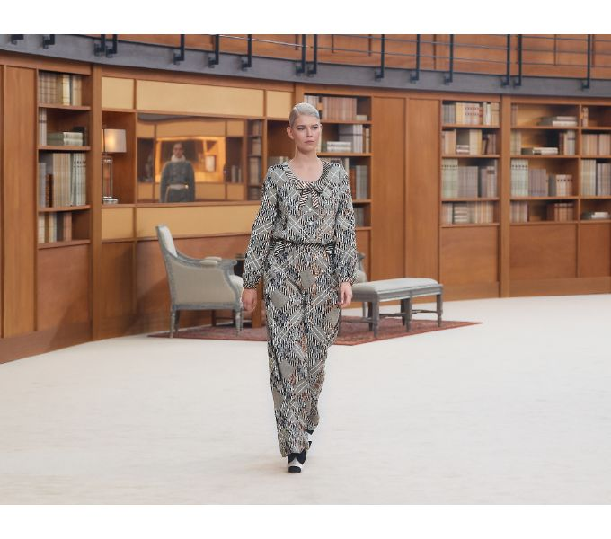 Chanel Fall 2019 Couture Collection at the Grand Palais in Paris