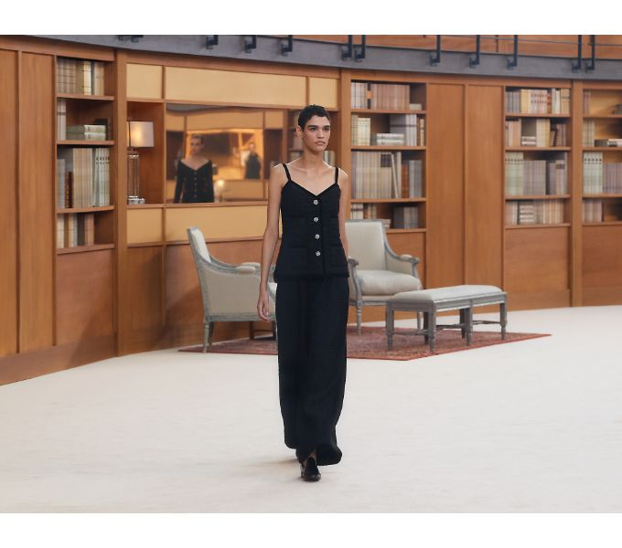 Chanel Fall 2019 Couture Collection atthe Grand Palais in Paris
