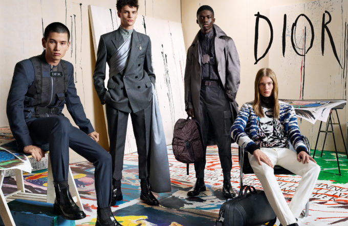 The new Dior Homme campaign celebrates the work of Raymond Pettibon