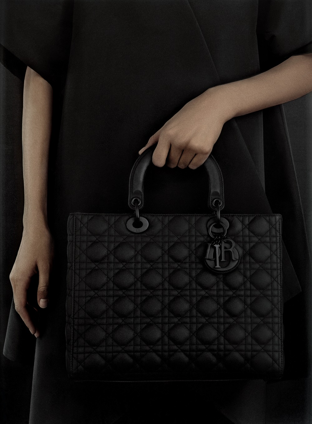 Dior presents the Black Ultra-Matte Bags