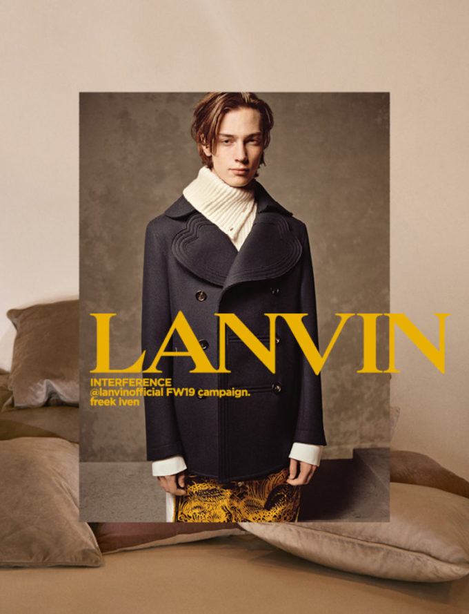 Bruno Sialelli Launches Pure Artistry InLanvin'sFall2019 CampaignLensed ByGlen Luchford