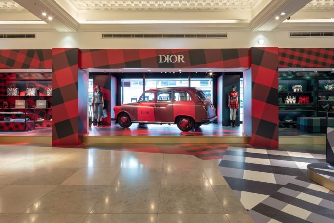 Dior x Harrods Pop Up