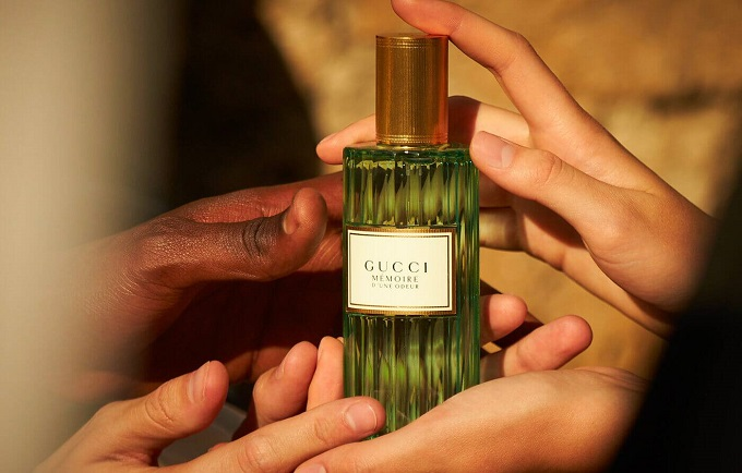Gucci Mémoire d'une Odeur Fragrance Campaign with Harry Styles