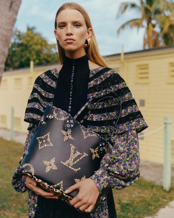Louis Vuitton Monogram Giant Fall 2019 AD Campaign