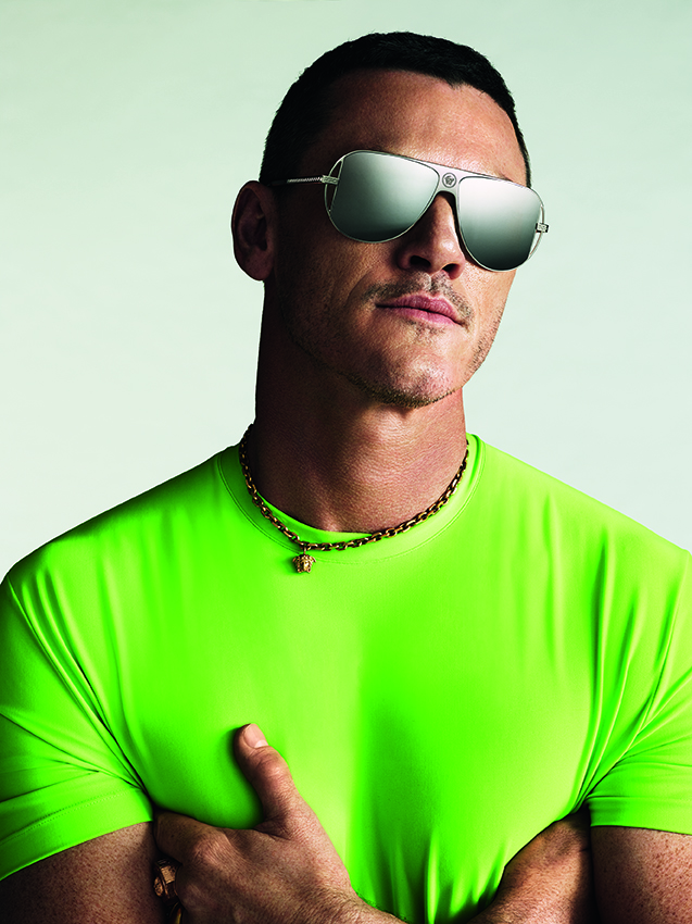 Versace & Luke Evans Capsule Collection