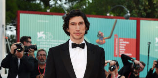 Adam Driver wore a Burberry
