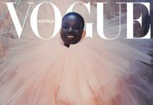 Adut Akech by Andrew Nuding for Vogue Australia