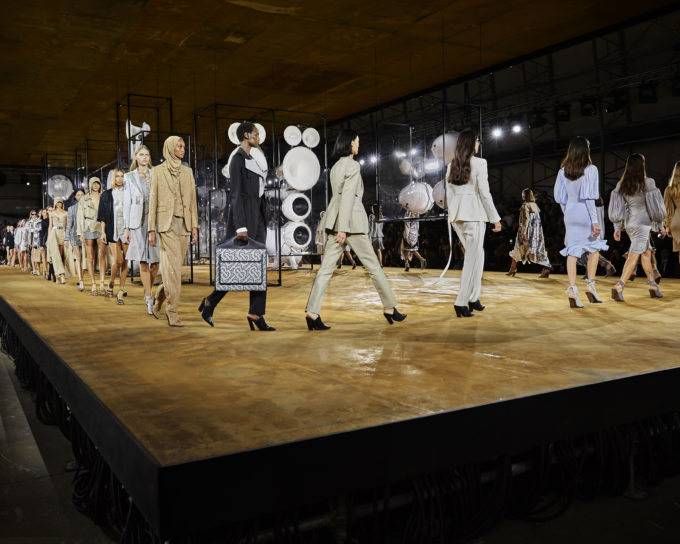 Burberry's Evolution continued with a touch of Heritage Chic