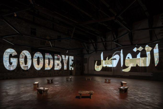 GAMeC, Bergamo   si chiude con 51.868 visitatori in 3 mesi la mostra di Jenny Holzer a Palazzo della Ragione