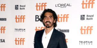 Dev Patel wearing Burberry this week
