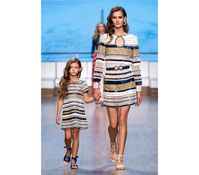 MFW Elisabetta Franchi RTW Spring 2020 fashionpress.it