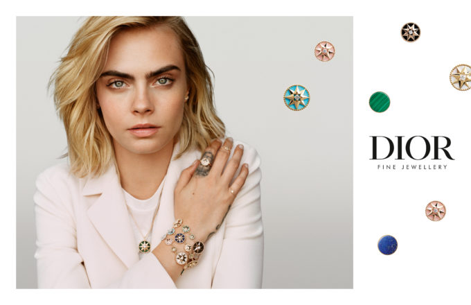 Cara Delevingne for Dior Joaillerie Campaign