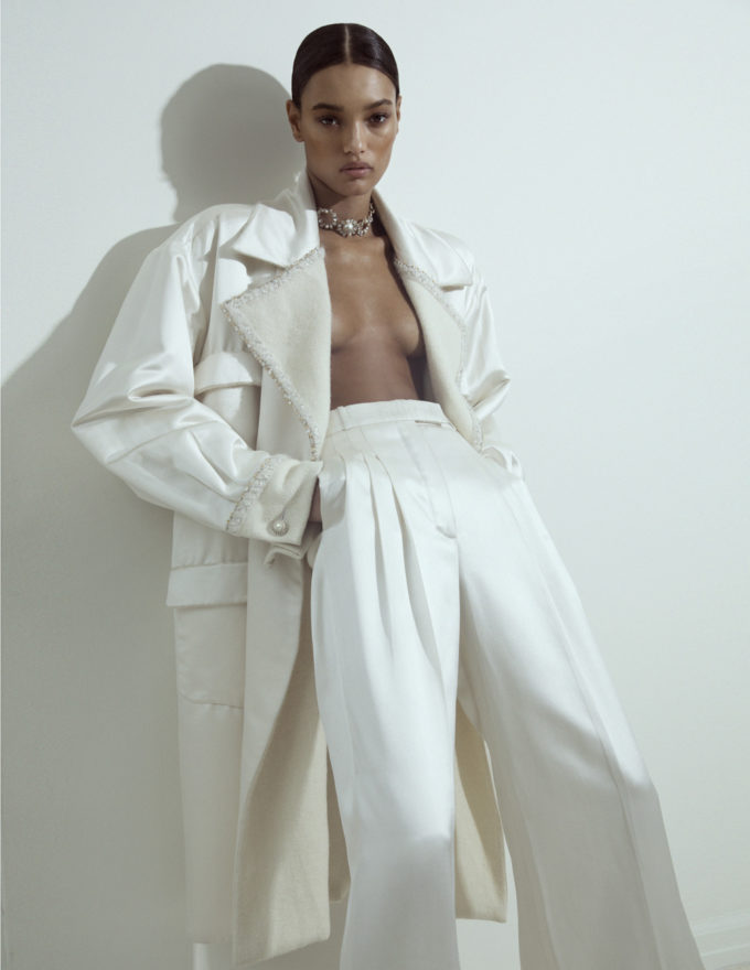 Daniella Midenge for Grazia Australia with Lameka Fox